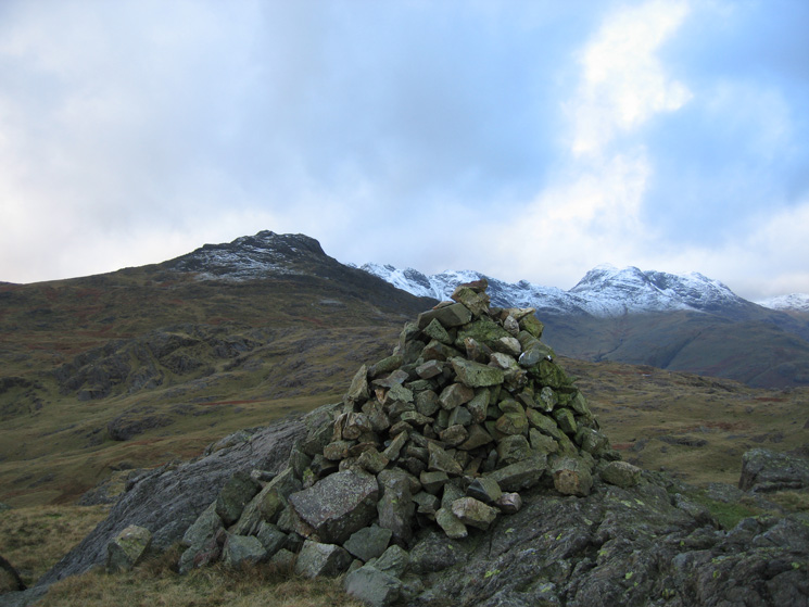 Pike O' Blisco from Blake Rigg's summit cairn
