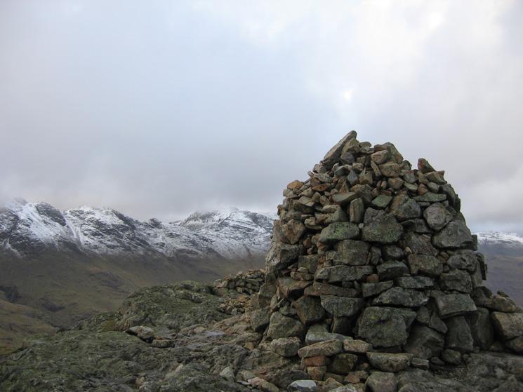 Pike O' Blisco summit