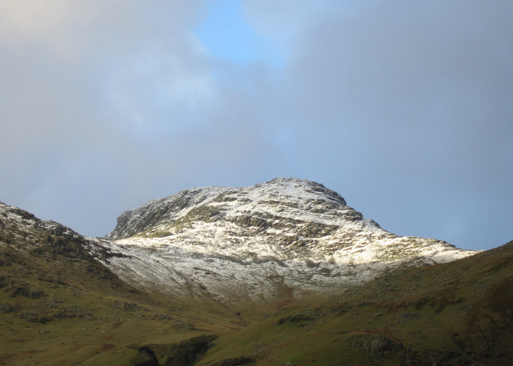 Zooming in on Bowfell