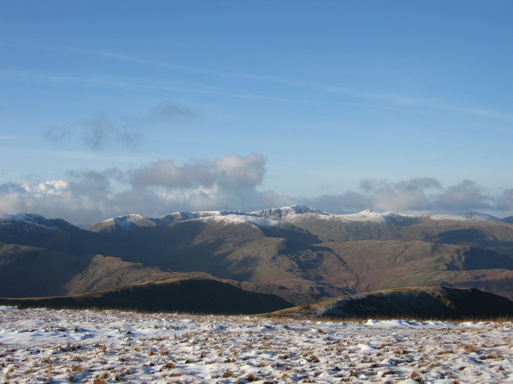 Helvellyn from High Street's summit