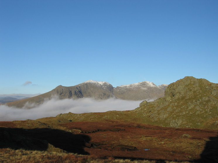 Slight Side, Scafell and Scafell Pike