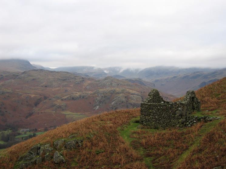 The Low Birker peat-hut