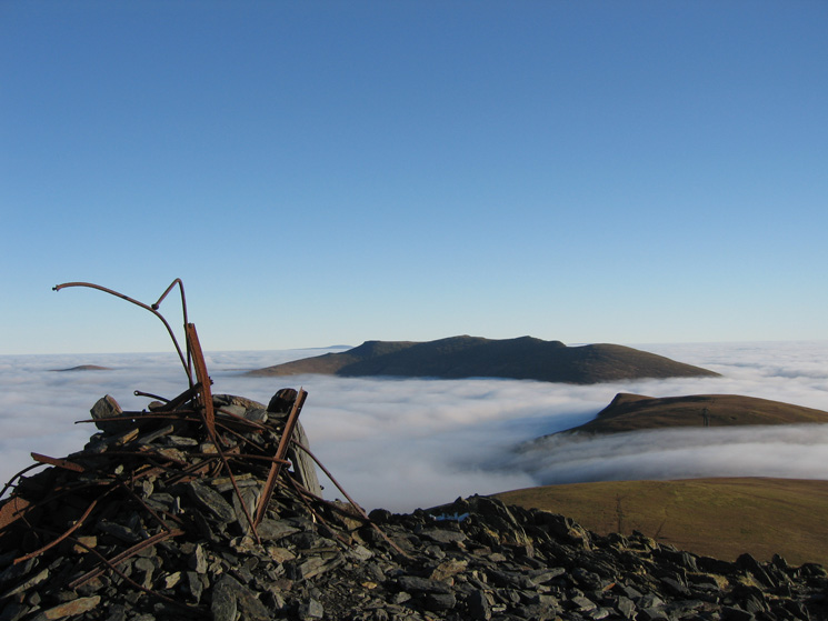 Blencathra and Lonscale Fell from Skiddaw Lesser Man