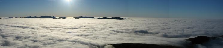 Southwesterly panorama from Skiddaw