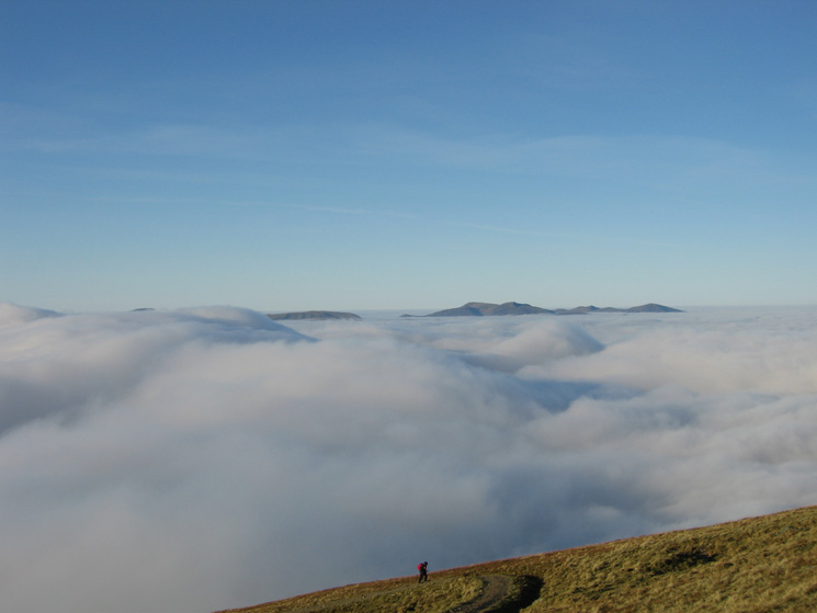 The north western fells from Birk Side