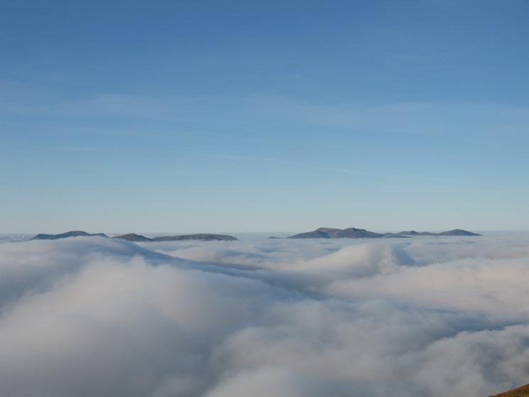 The High Stile ridge, Dale Head, Hindscarth, Robinson, the Grasmoor fells and Grisedale Pike