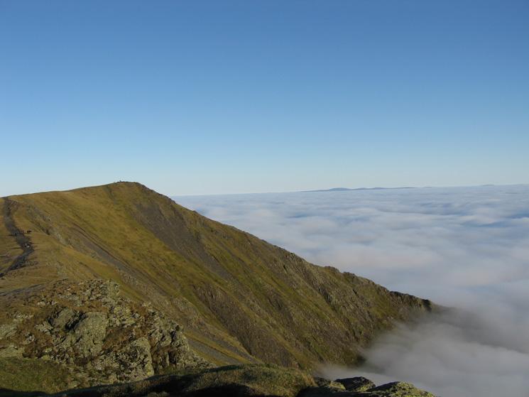 Hallsfell Top, Blencathra's summit
