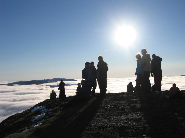 Blencathra's summit