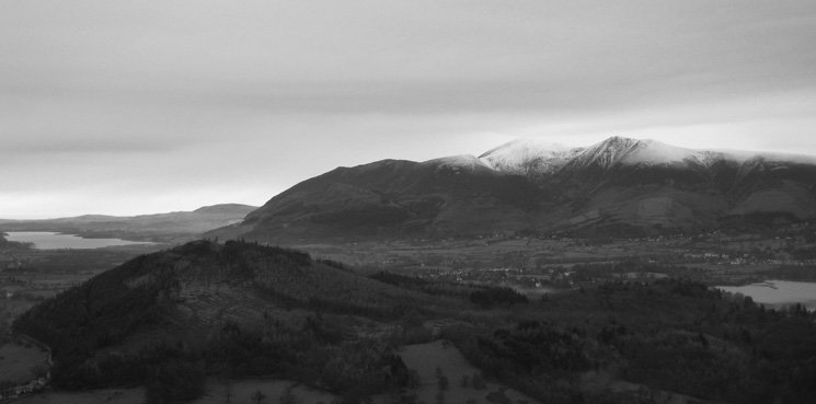 Swinside and the Skiddaw Fells
