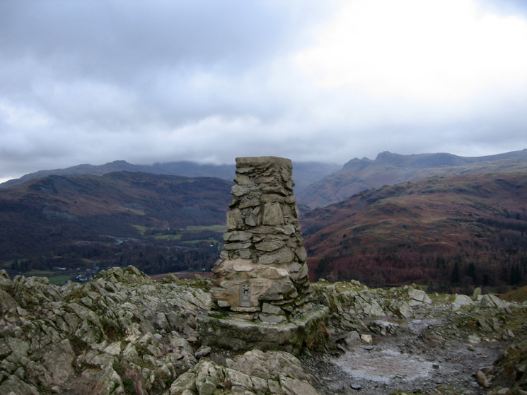 Loughrigg Fell's trig point