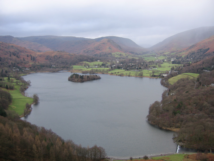 Grasmere again from my descent