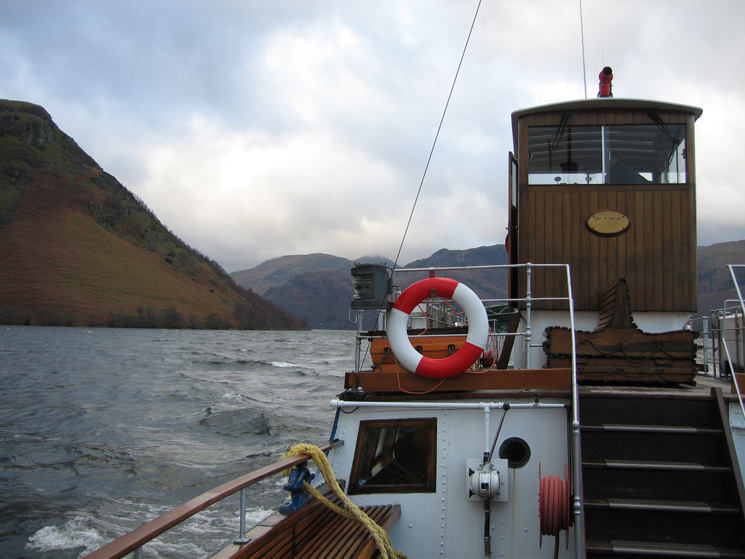 Our Ullswater steamer, 'Lady of the Lake'