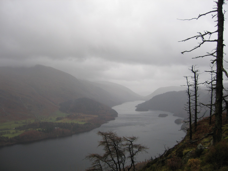 Thirlmere from Raven Crag's summit