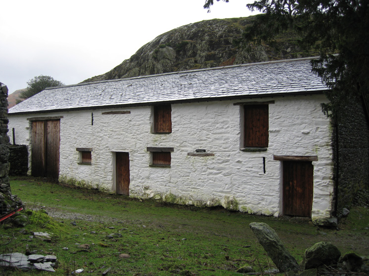 One of the buildings at Smaithwaite