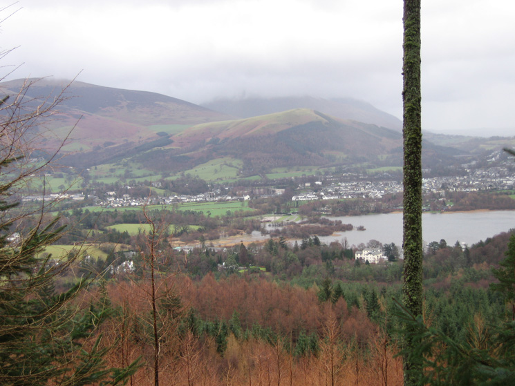 Latrigg and Keswick from Swinside