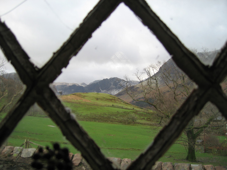 ...and Haystacks through the window