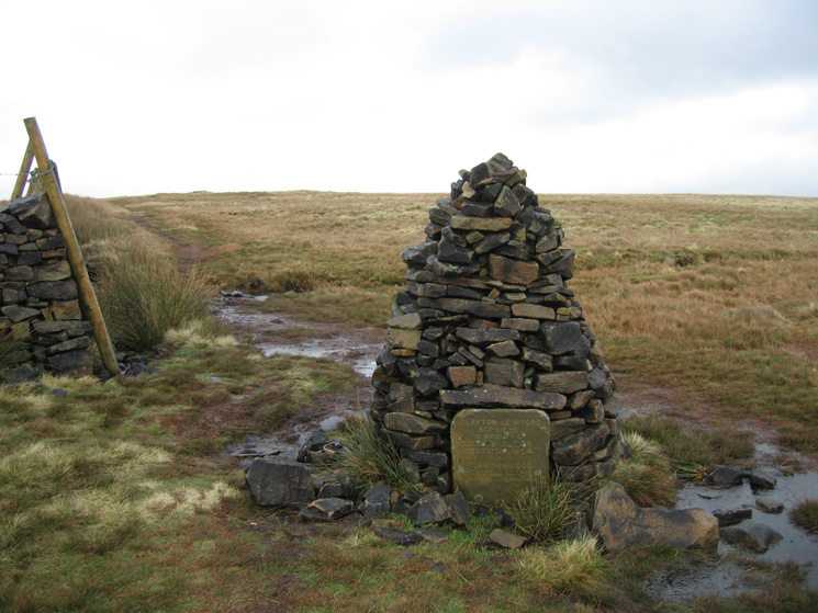 The Clayton-le-Moors Harriers cairn