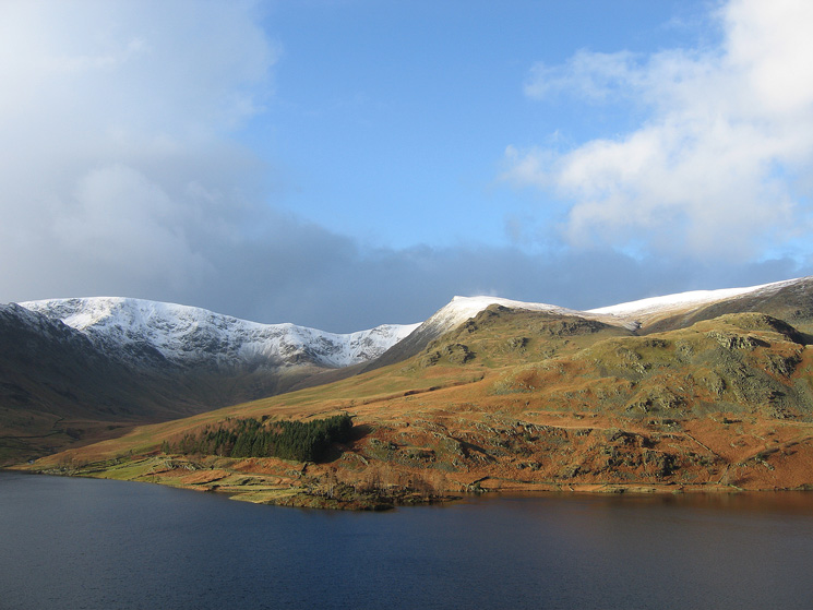 Looking across Haweswater to Kidsty Pike