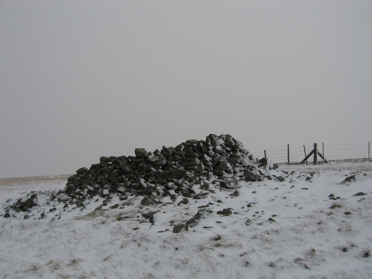 Selside Pike's summit shelter / cairn