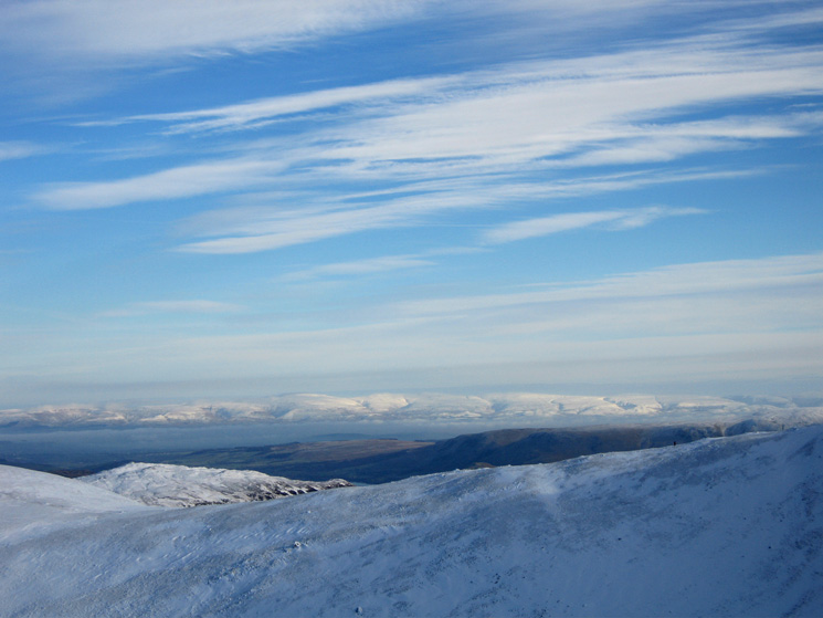Looking east to the North Pennines