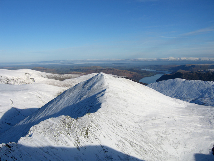 Catstycam from Helvellyn's summit