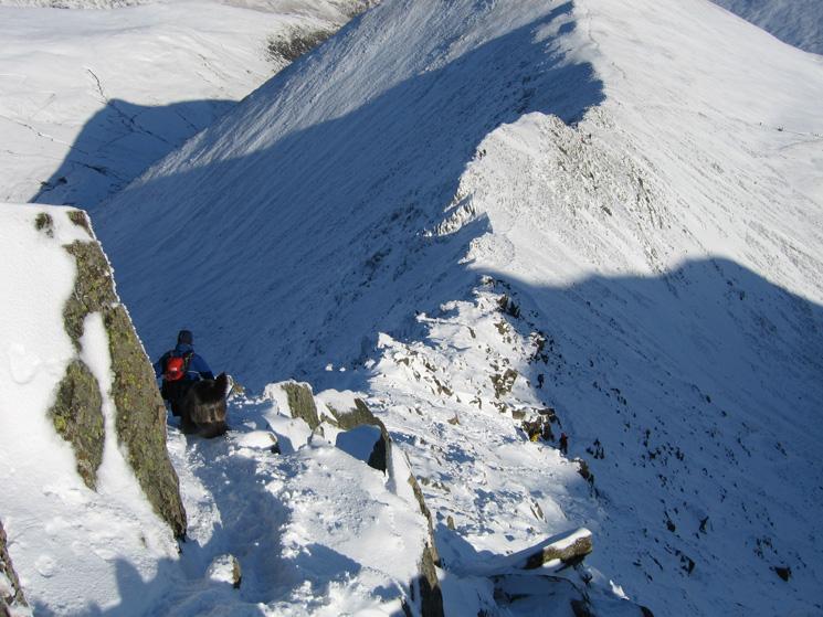 Descending Swirral Edge