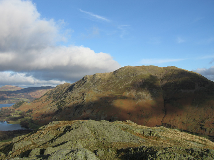 Place Fell from Arnison Crag's summit