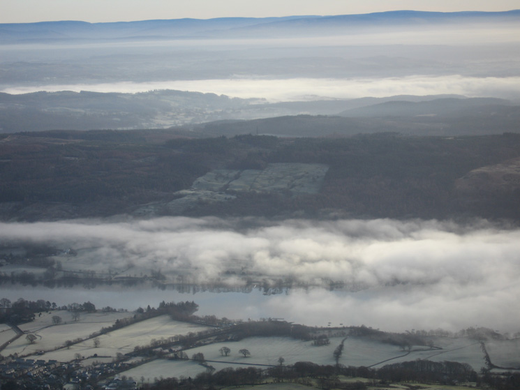 Zooming in on Coniston Water