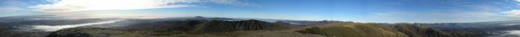 360 Panorama from Coniston Old Man's summit