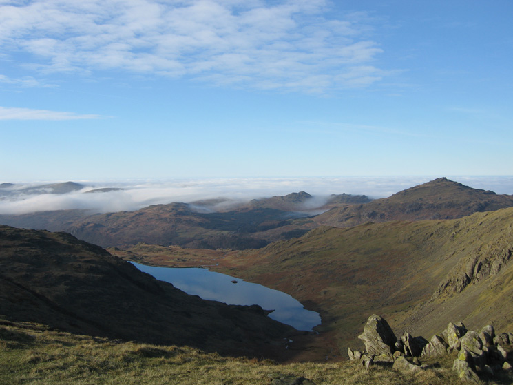 Seathwaite Tarn and Harter Fell
