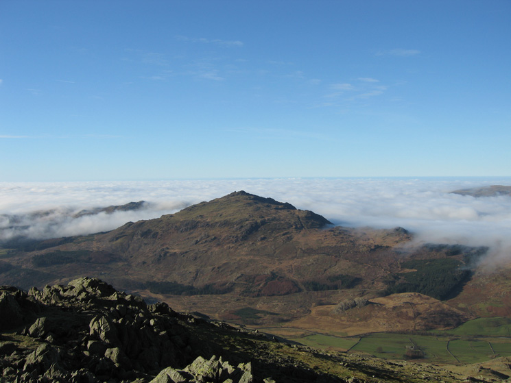 Harter Fell from Grey Friar's summit