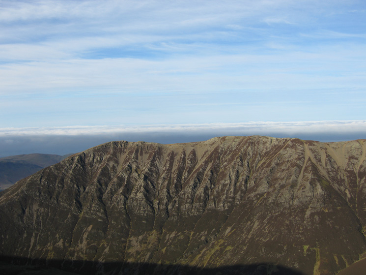 Gasgale Crags on the side of Whiteside