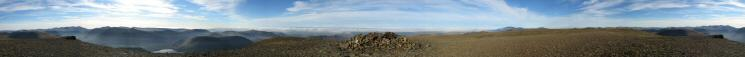 360 Panorama from Grasmoor's summit