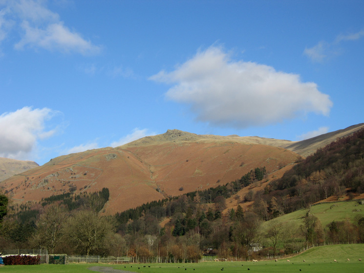 Stone Arthur from the showground, Grasmere