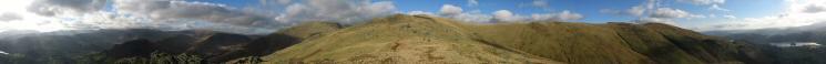 360 Panorama from Stone Arthur's summit