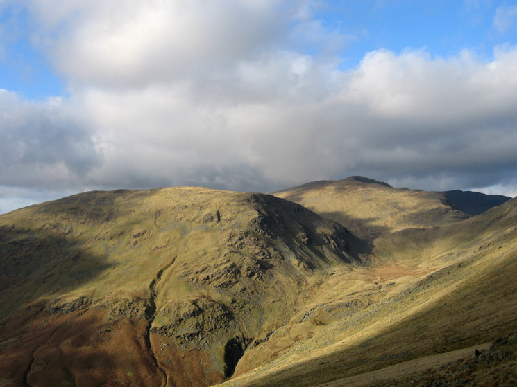 Seat Sandal with Dollywaggon Pike behind right