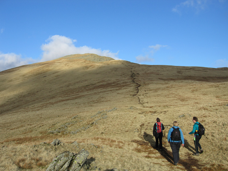 Heading for Great Rigg