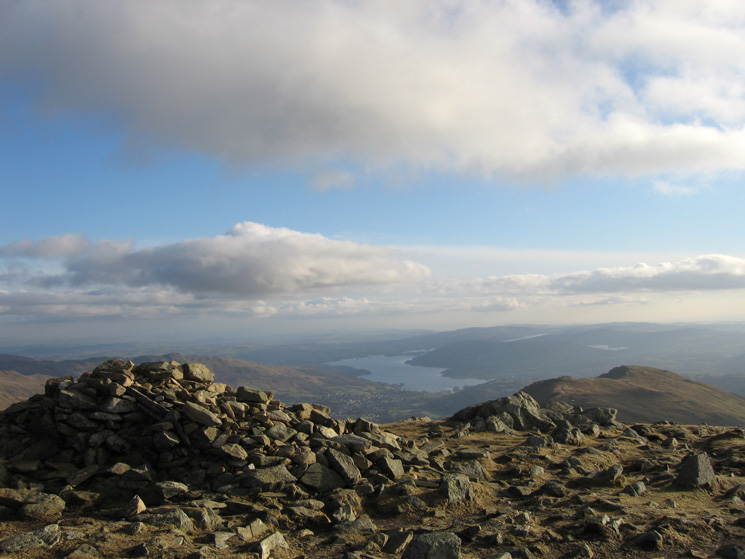 Windermere from Great Rigg's summit