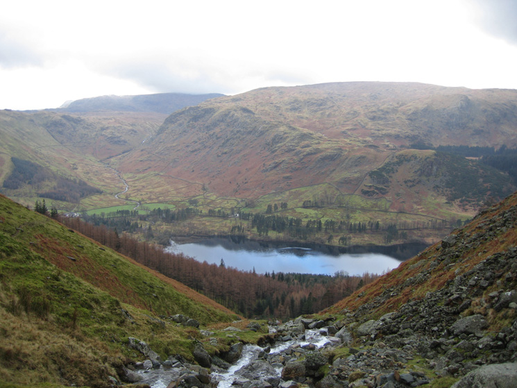 Looking across Thirlmere to Ullscarf