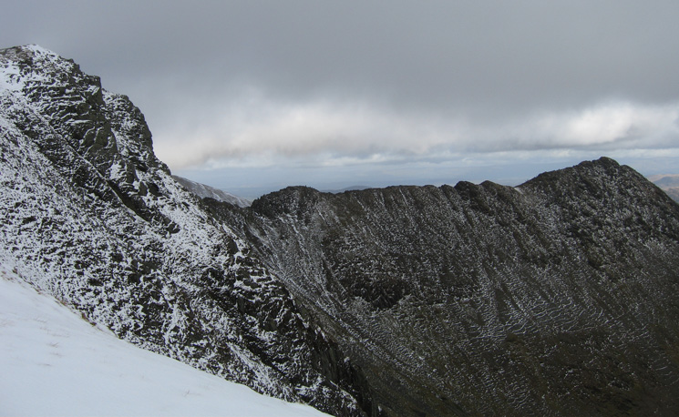 Striding Edge from Swallow Scarth