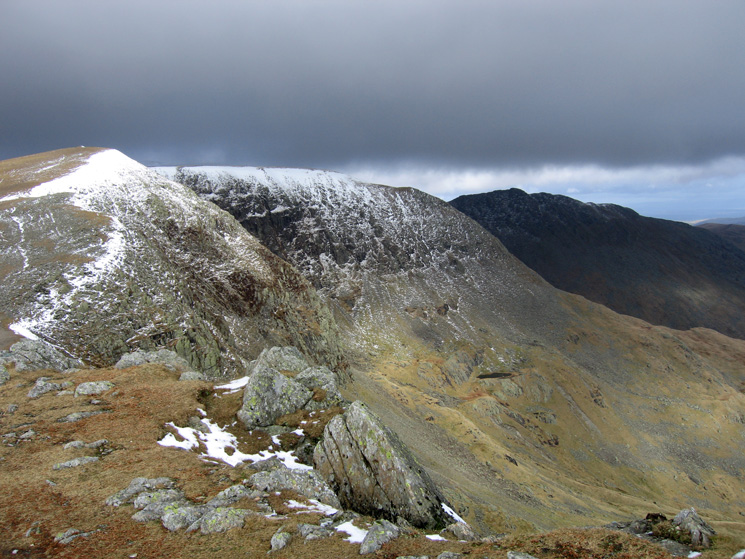 High Crag, Nethermost Pike and High Spying How