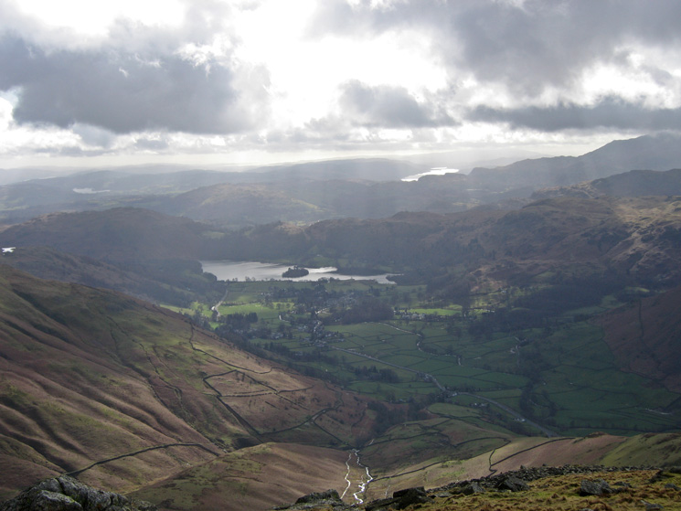 Grasmere from Seat Sandal