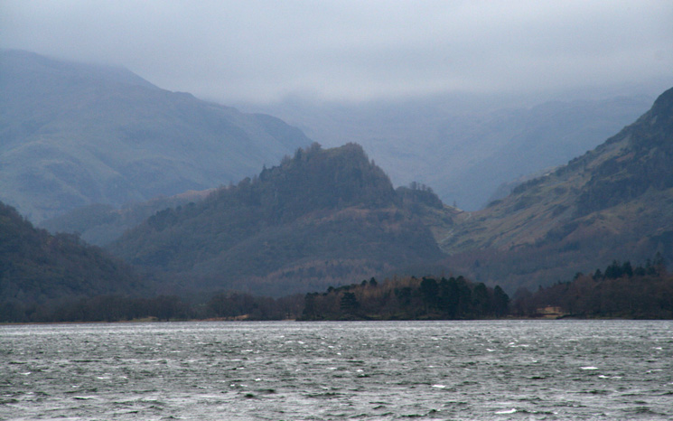 Zooming in on Castle Crag