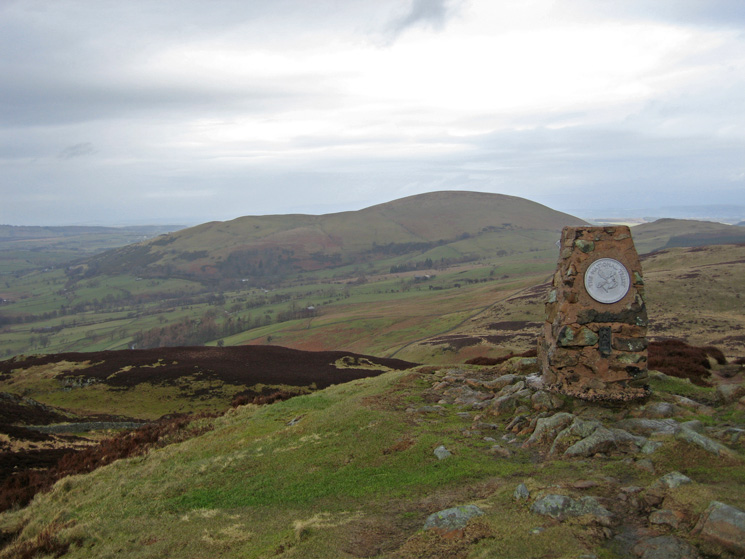 Little Mell Fell from Gowbarrow Fell's summit