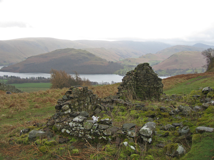 Hallin Fell across Ullswater from the old shooting lodge