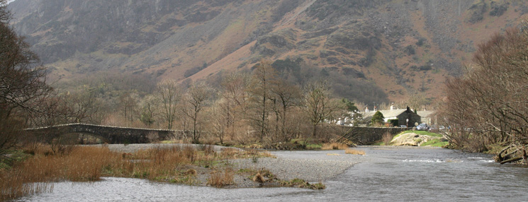 The River Derwent at Grange