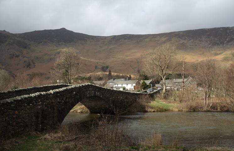 The east bridge over the River Derwent at Grange