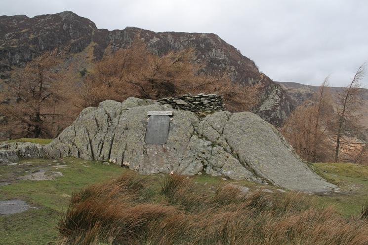 Castle Crag's summit