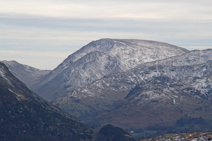 ...and zooming in on Red Screes to the south