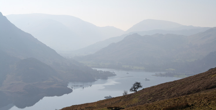 Ullswater from Watermillock Common